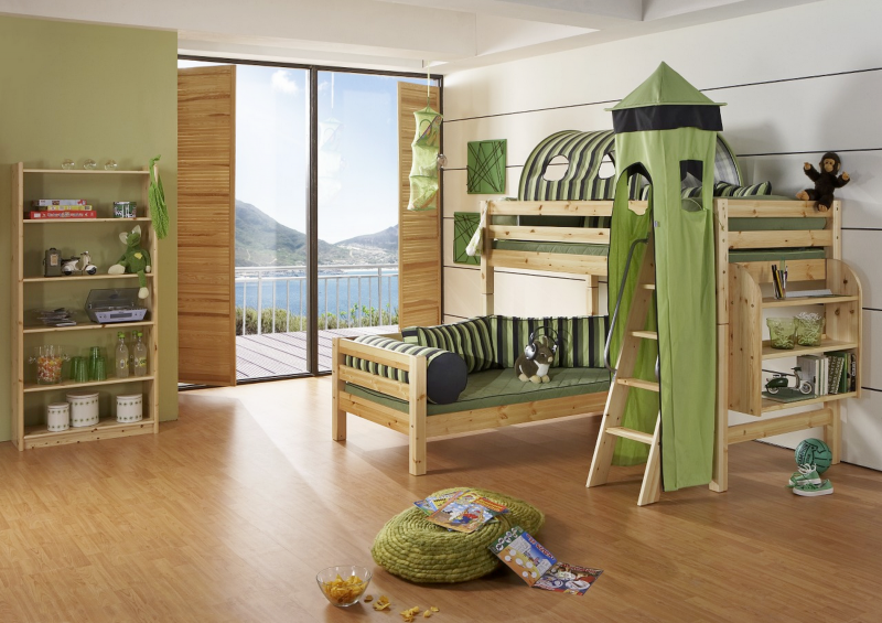 kinder und jugendzimmer m bel massiv innatura massivholzmoebel matratzen und raumausstattung. Black Bedroom Furniture Sets. Home Design Ideas
